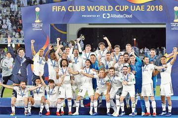 Real Madrid golea a Al Ain y revalida su reinado mundial
