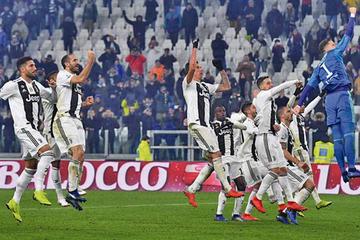 Juventus gana a Roma y se proclama campeón de invierno