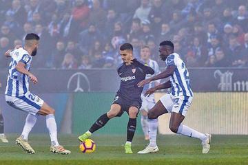 """Sevilla empata ante Leganés en su visita al """"Butarque"""""""