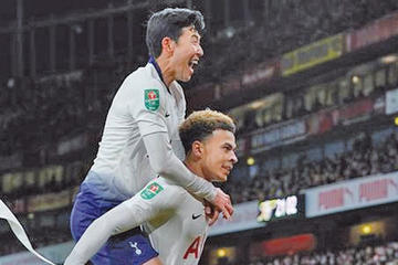 Tottenham golea sin problemas a Everton