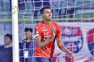 Gilbert Álvarez regresa a Wilstermann