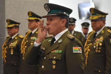 Rómulo Delgado asume como nuevo comandante de la Policía