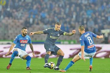 """Inter y Nápoles iluminan el primer """"Boxing Day"""" italiano"""