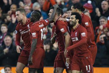 Liverpool golea a Newcastle y fortalece el liderato en la Premier