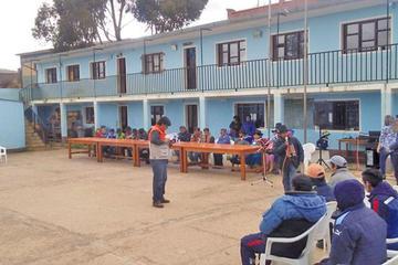 Alcalde inaugura ampliación de una escuela en Chaquilla