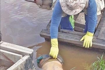 Encuentran el cuerpo de un hombre que cayó al río Ibare