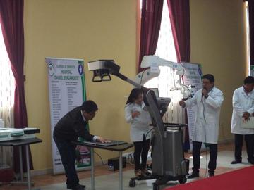 El Hospital Daniel Bracamonte recibe equipos por Bs 26 millones