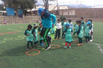 Escuela de fútbol trabaja en la formación de los nuevos valores potosinos