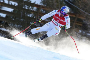 El esquiador italiano Dominik Paris gana por la mínima el Supergigante de Bormio