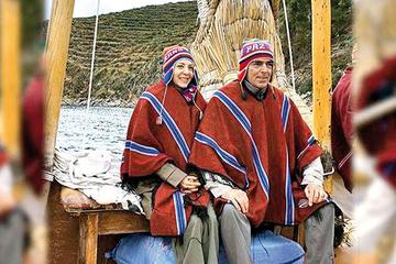 La actriz Edith Gonzales  conoció el lago sagrado