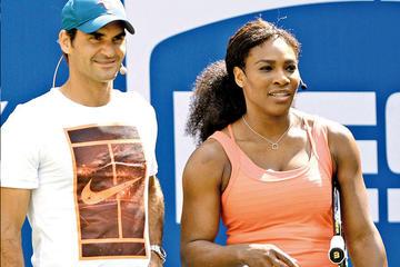 Roger Federer jugará contra Serena Williams