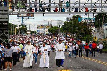 El clero de Nicaragua cancela una tradicional procesión por crisis