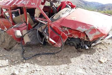 Siete ciudadanos resultan heridos en accidente vial