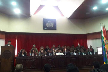 Inician año judicial con el compromiso de mejorar la administración de justicia