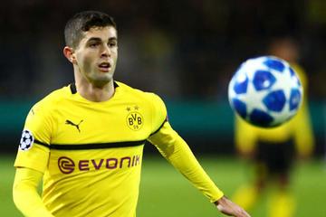Borussia Dortmund traspasa a Chelsea a Pulisic por 64 millones de euros