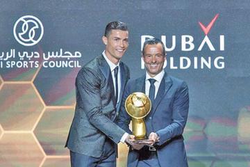 Cristiano y Atlético son premiados en los Globe Soccer Awards