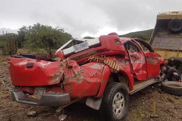 Posible exceso de velocidad provoca accidente en vía Cotagaita - Tupiza