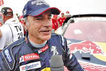 El piloto español Carlos Sainz busca su tercer título en la prueba más dura del deporte tuerca