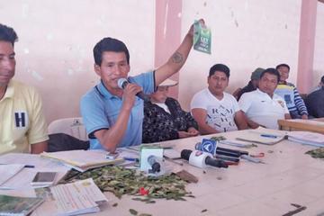 Los cocaleros de Yungas dan 20 días para liberar a Franclin Gutiérrez