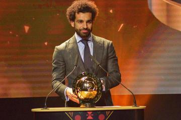 Salah es elegido mejor jugador africano de 2018 en los premios de la CAF