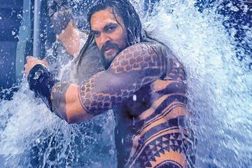 Aquaman reina en la taquilla del cine