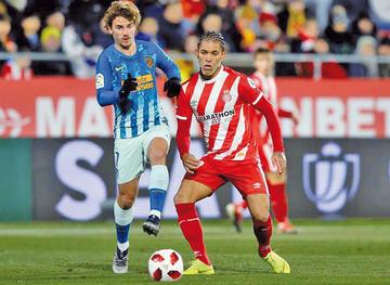 """Atlético empata ante Girona en el """"Montilivi"""""""