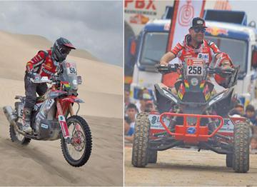 Un accidente obliga a los Nosiglia a abandonar  el Dakar en la tercera etapa