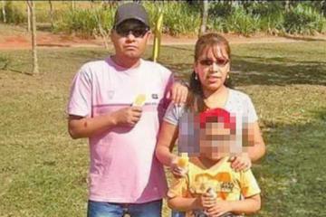 Los restos de la familia mutilada en Brasil llegarán a Bolivia el lunes 14