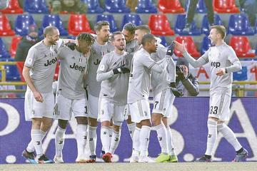 Juventus vence a Bolonia y avanza a cuartos de Copa Italia