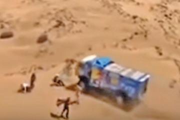 Excluyen al camión ruso  por atropellar a espectador