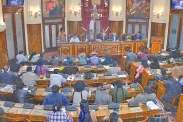 Legislativo considerará el decreto de amnistía e informe de privatización