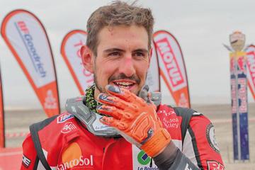Nosiglia rompe su marca en el Dakar y se instala en el puesto 11 de la clasificación general