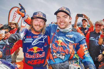 Al-Attiyah y Price se consagran campeones del Dakar 2019