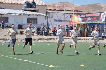 La banda roja se ausenta esta tarde  a Oruro para retar a San José