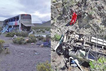 Dos accidentes cobran la vida de 35 personas en fin de semana