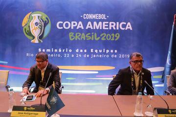 La suerte definirá Grupos de la Copa América