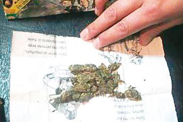 Una niña era utilizada para la distribución de marihuana