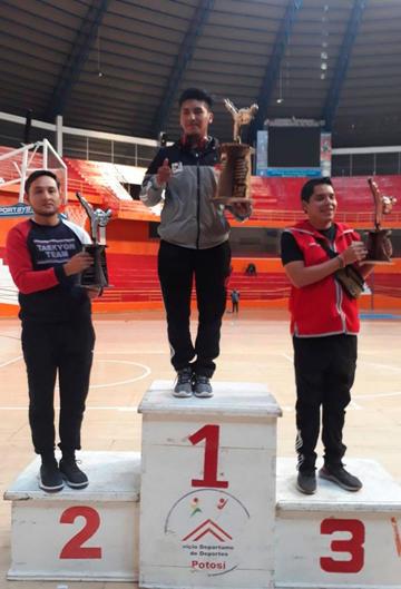 Potosí se impone en el campeonato de Taekwondo