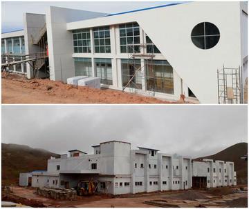 Preparan la entrega de dos nuevos hospitales para Llallagua y Ocurí