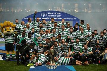 Sporting se corona campeón de la Copa de la Liga lusa