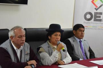 Solo el 36 % de los militantes del MAS participaron de las primarias