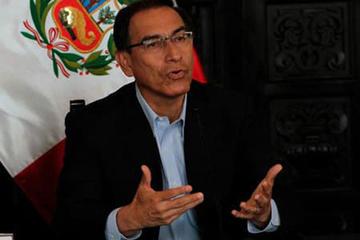 Presidente de Perú pide al Congreso aprobar reformas judiciales