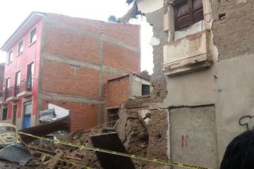 """Cae una casa """"antigua"""" y la Alcaldía toma las acciones"""