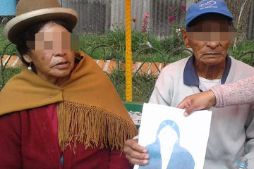 Anciano quiso quitarse  la vida porque su hija lo despoja de su casa