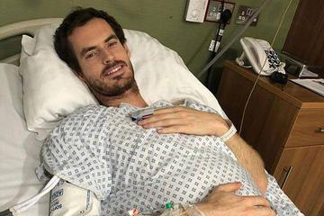 Andy Murray fue operado de la cadera