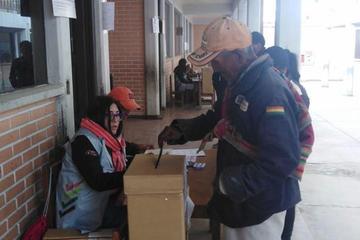 Solo el 29,9 por ciento de los militantes acudieron a las urnas en Potosí