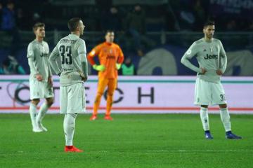 Juventus abdica como rey de la Copa 4 años después tras caer ante Atalanta