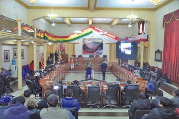 Destacan el apoyo de los asambleístas para  obras departamentales