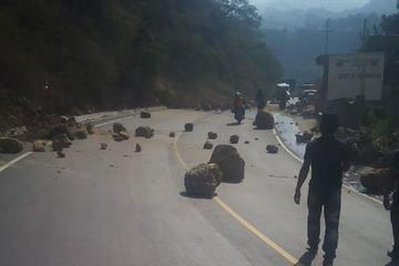 Sismo en la frontera de Guatemala y México deja derrumbes y heridos