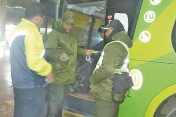 Más de 5.000 pasajeros por día se transportan a otros distritos